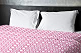 Ebydesign Geometric Duvet Cover, King, 3Petal