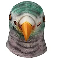 Signstek Horror Pigeon Head Mask Scary Halloween Cosplay Party Costume