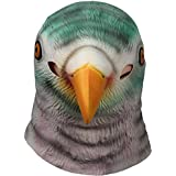 Signstek Horror Pigeon Head Mask Scary Halloween Cosplay Party Costume