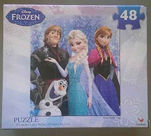 (Choose your favorite) 6 Different Designs of Disney Frozen Puzzles