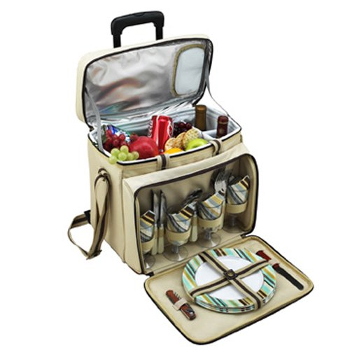 Santa Cruz Picnic Cooler for 4