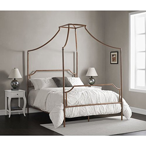 bailey-brushed-shabby-chic-copper-full-size-canopy-bed-gold