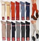 One Pair Marcoliani Mens Over-the-Calf Luxury Cashmere Italian Socks - RARE