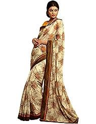 CSE Bazaar Women Indian Beautiful Fancy Sari Ladies Party Wear Exclusive Saree - B00SO6PTPS