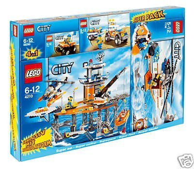 Lego City 66290 Küstenwache Set
