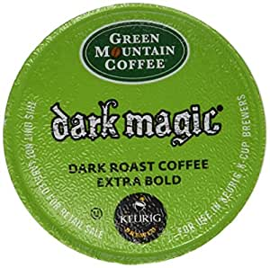 Green Mountain Dark Magic DECAF Extra Bold 4 Boxes of 24 K-Cups
