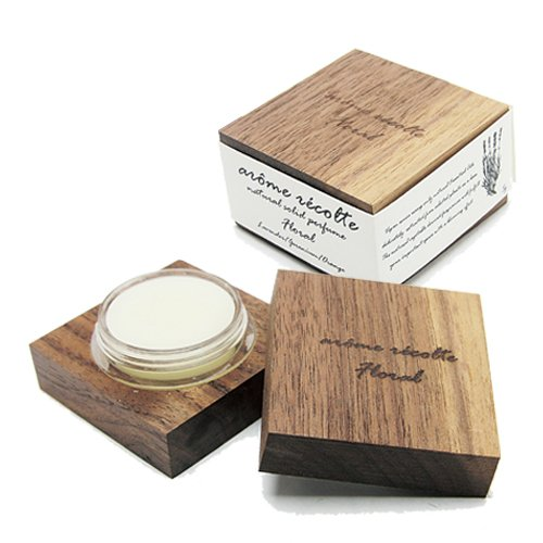 練香水 アロマレコルト ナチュラル ソリッドパフューム 5g フローラル