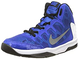 Nike Without A Doubt Boys Basketball Shoe (4, Blue)