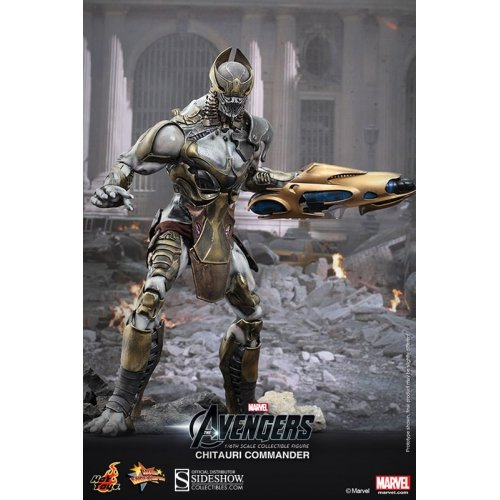 Other Toys - Chitauri Commander 1:6 Scale Hot Toys Figure for sale in ...