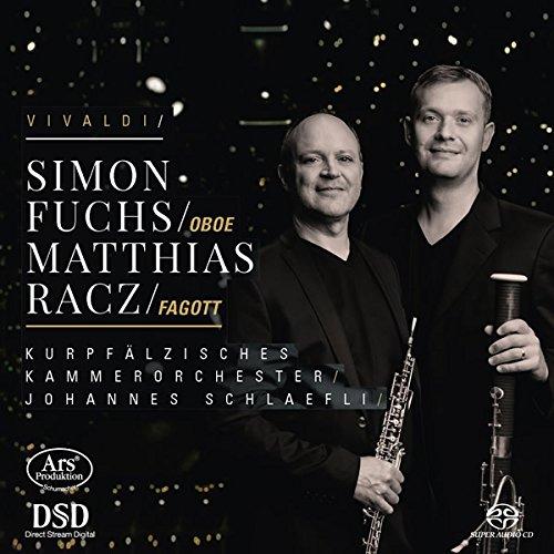 SACD : VIVALDI / RACZ / KAMMERORCHESTER / SCHLAEFLI - Bassoon & Oboe Concertos