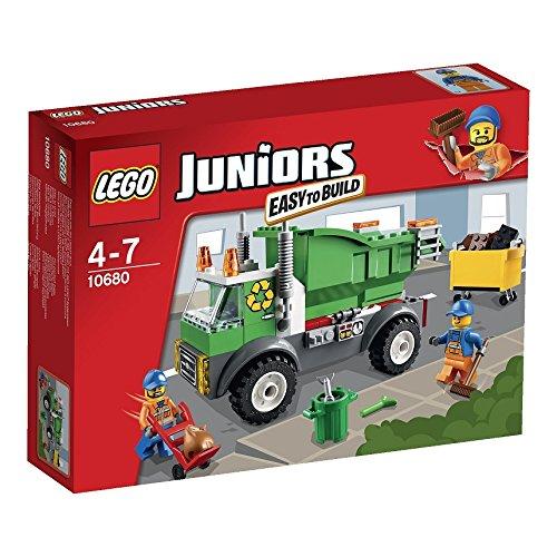レゴ ジュニア ゴミ収集車 10680