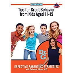 Tips for Great Behavior from Kids Aged 11 - 15
