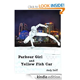 Parkour Girl and Yellow Fish Car
