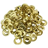 """Pro Tools 100pc Quality 3/8"""" Brass Grommets Tarps Canopies Covers Canvas Curtains at Sears.com"""