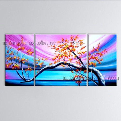 Elegant Contemporary Wall Art Floral Plum Blossom Decoration Ideas Bedroom Wall Art