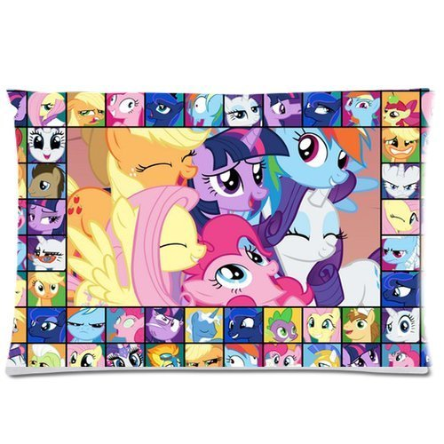 Generic My Little Pony Custom Zippered Pillow Cases 20x26 (Two sides) (My Little Pony Equestria Girl Costume)