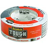 Scotch Tough Duct Tape, Heavy Duty All-Weather,  1.88-Inch by 45-Yard
