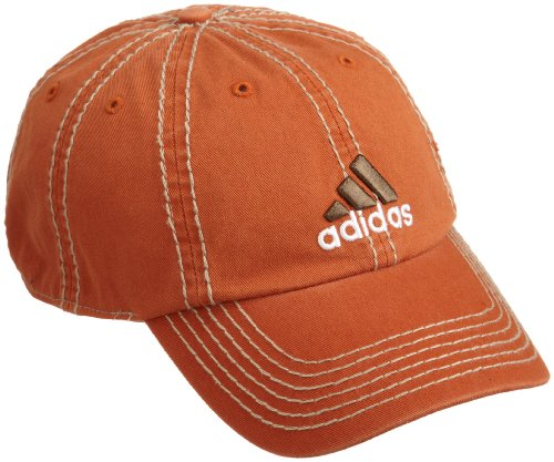 036c3a9b Adidas Weekend Warrior Cap, Longhorn Orange/Natural Stone/White, One Size  Fits All