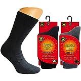 Super-Thermo-Socken. warme Innenseite, Top Wärmeisolation.