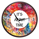 Wall Clocks - Printland Its About Time Wall Clock