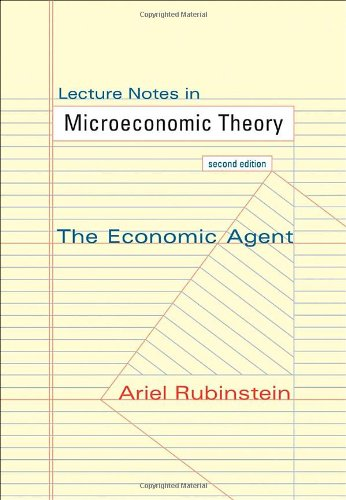 microeconomics theory lecture objectives Of the m sc degree programmes  educational objectives / competencies the lecture explores the effects of monetary and fiscal policy for  microeconomic theory.