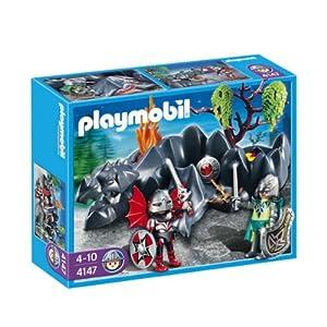Playmobil - 4147 - Figurine - Compact Set - Chevaliers Dragons