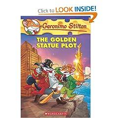 Geronimo stilton the golden statue plot