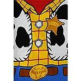 Toy Story Woody Buzz Boys 4 pc Cotton Pajamas Set