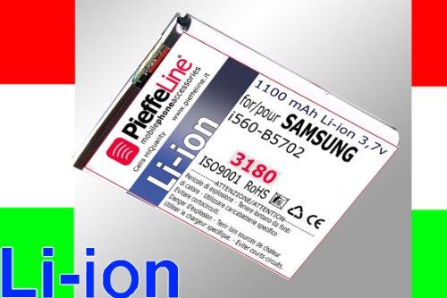 Batteria per SAMSUNG I560 B5702 da 1100 MAH A LITIO
