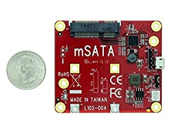 Aleratec Raspberry Pi Add USB to mSATA Converter Board Adapter