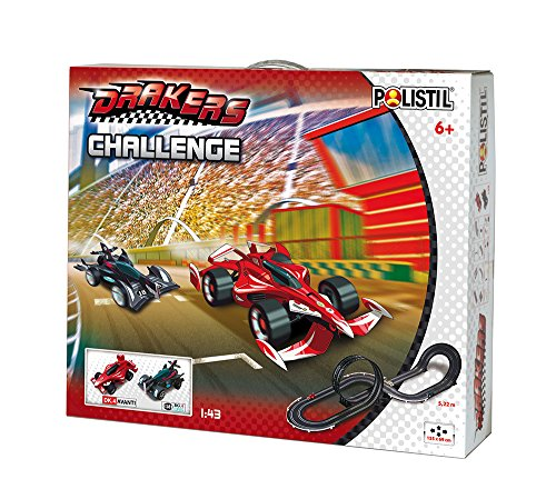 The Drakers 960161 - Challenge Pista, Include 2 Veicoli, in Scala 1:43