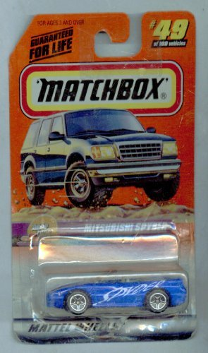 Matchbox 1999-49/100 Drop Tops Mitsubishi Spyder 1:64 Scale
