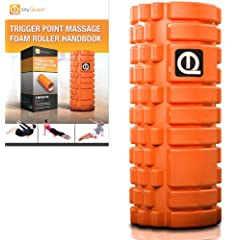 Foam Roller WITH FREE FOAM ROLLER EXERCISE eBOOK - The Best Muscle Roller For... by MyQuest