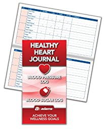 Adams Healthy Heart Journal, 6.25 x 3.25 Inches (APJ96)