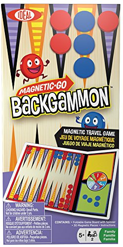 Ideal Magnetic Go! Backgammon - 1