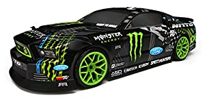 HPI E10 Drift RTR with Vaughn Gittin Jr. Monster Ford Mustang Body