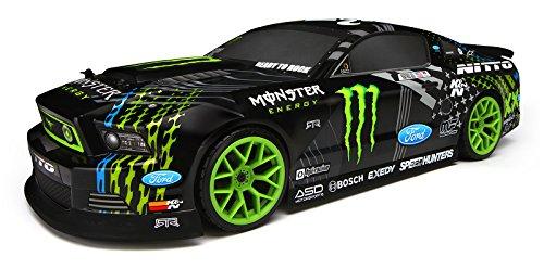 Hpi Racing 111664 E10 2013 Mustang Drift Monster Energy Rc Car