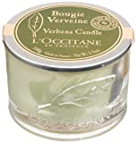 L'Occitane Bougie Verveine (Berbena Candle), 3.5-Ounce Glass Jar
