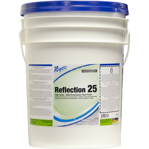 Nyco Products NL165-P5 Reflections 25 High Performance Floor Finish 5-Gallon Pail