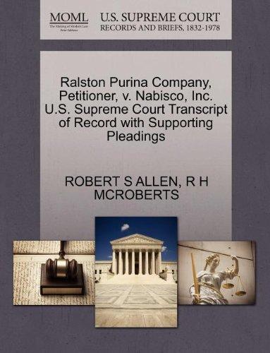ralston-purina-company-petitioner-v-nabisco-inc-us-supreme-court-transcript-of-record-with-supportin