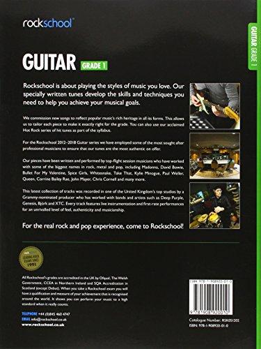 Rockschool Guitar Grade 1 (2012-2018)