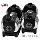 Compare Prices of black friday Pair of 50 lb. Adjustable Dumbbells Free Shipping