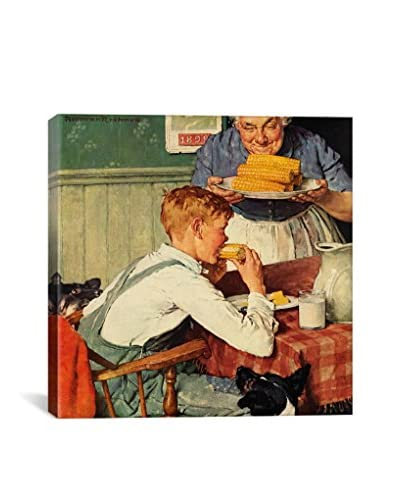Norman Rockwell And Then Ma, Or Grandma Brought 'Em In Giclée Print