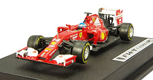 Hot Wheels Heritage Ferrari F2014 Fernando Alonso Vehicle (1:43 Scale)