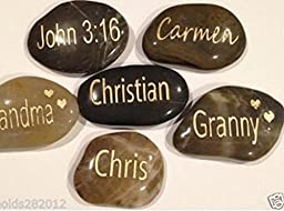Addison Custom / Personalized Engraved Stones