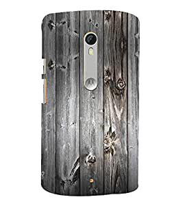 Rustic Wood 3D Hard Polycarbonate Designer Back Case Cover for Motoroal Moto X Style