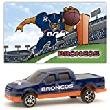 Denver Broncos 2007 Upper Deck Collectibles NFL Ford F-150 Pickup Truck with Sticker ~ Upper Deck