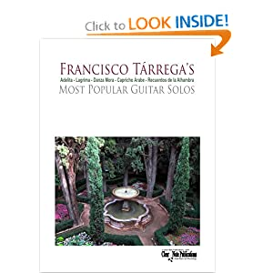 Tarrega's Most Popular Guitar Solos (Adelita - Lagrima