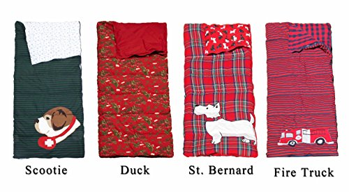 Lands' End Kids Sleeping bag  Flying Duck and