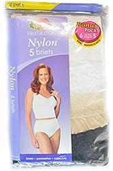 Fruit of the Loom 6 Woman Nylon Briefs